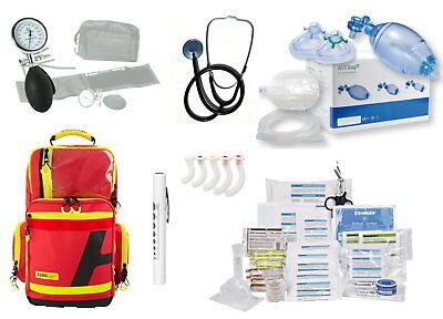 case RPL gefüllt MED-Söhngen (ArztPraxis Feuerwehr DIN 13157 (Feuerwehr-rucksack)
