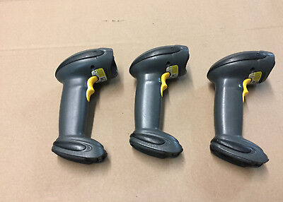Lot Of 3 Symbol Ls4278-sr20157zzwr Wireless Barcode Scanners