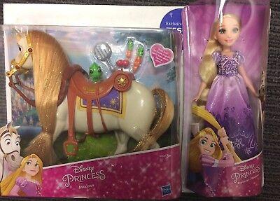 Disney Princess Rapunzel Doll & Disney Maximus Horse - Brand New In Stock