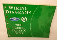 2008 OEM FORD TAURUS X MERCURY SABLE ELECTRICAL WIRING ...