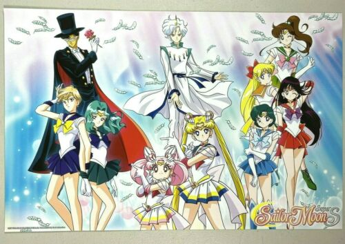 SAILOR MOON Super S POSTER Viz Media SDCC Comic Con 2018 EXCLUSIVE 11x7 NEW