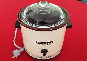 Retro 'Crock-Pot' brand Slow Cooker Hallett Cove Marion Area Preview