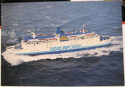 Postcard transport MV Galloway Princess 1980 - unposted