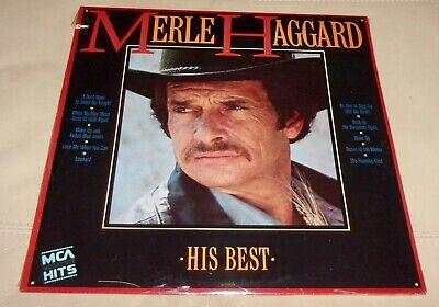 His Best by Merle Haggard (Vinyl LP, 1985 USA Sealed) Greatest (Merle Haggard Best Hits)