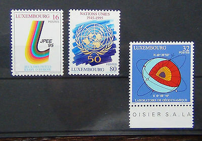 Luxembourg 1995 Anniversaries and Events set MNH