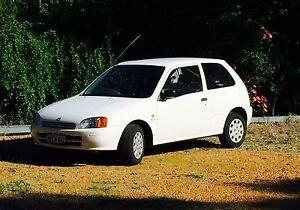 Toyota starlet 1998 Midvale Mundaring Area Preview