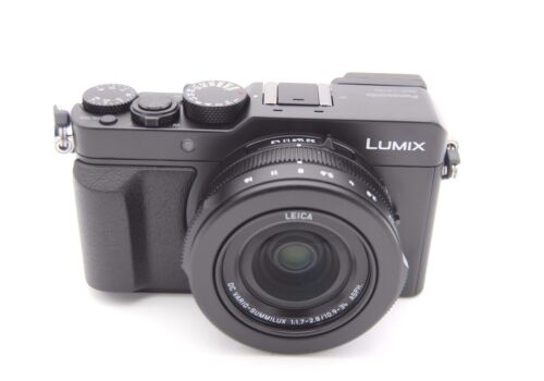 Panasonic Lumix DMC-LX100 12.8MP Digitalkamera Schwarz