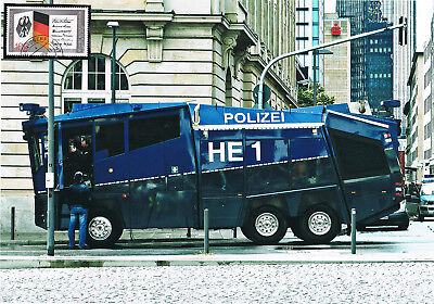 Polizeifahrzeug HE 1 Wasserwerfer Schmuckblatt 17.2