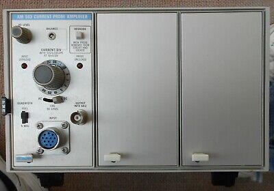 Tektronix 3 Slot Mainframe Tm503 Power Module Am503 Current Probe Amplifier
