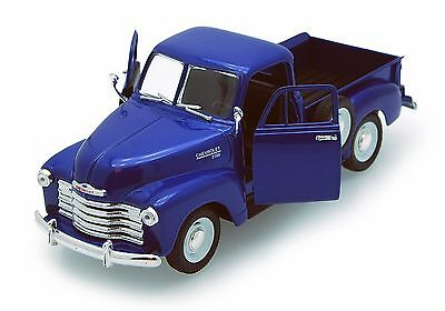 """Welly 1953 Chevrolet 3100 Pickup Truck 1:24 scale 8"""" diecast model BLUE W213"""
