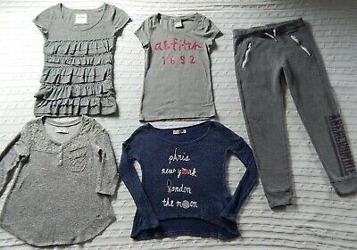5 Piece ABERCROMBIE Lot ― Girls S Small 9/10 ― Tops/Sweaters & Sweatpants #AG61