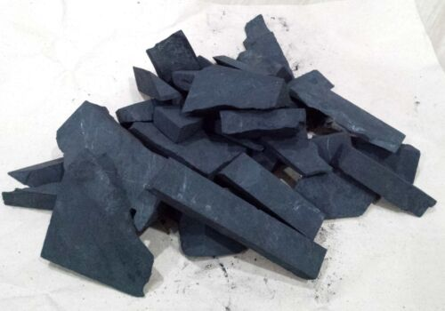 SHUNGITE STONES Large Fraction Big Cut Pieces 5 LB Bag High Quality 100% Real
