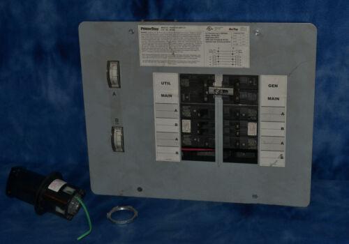 POWER STAY MANUAL TRANSFER SWITCH 301060 FOR 7500 WATT GENERATORS 30/60AMPS