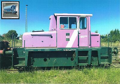 Diesellokomotive Nr.5 Stadtwerke Wesel Schmuckblatt 8.2