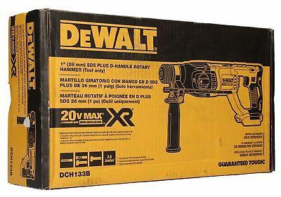 Dewalt DCH133B 20V Max XR Brushless 1-inch D-Handle Rotary Hammer Drill