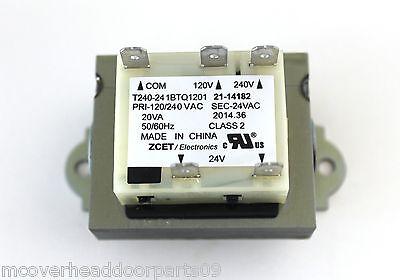 120v Part (LiftMaster Commercial Garage Door Opener Transformer 120V/240 V, Part # 21-14182 )