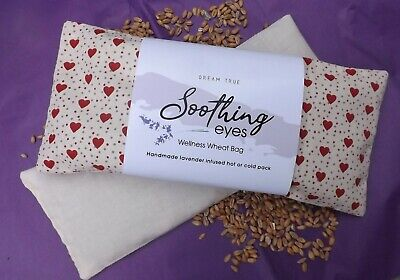 Wheat Bag/Soothing Eyes-Lavender InfusedYoga-Heat/Cold Pack Removable Cover Heat Packs Eye Cover