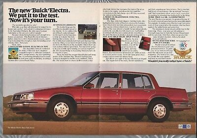 1984 BUICK ELECTRA 12-page advertisement, Engineering supplement