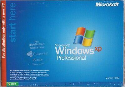 NEW GATEWAY Windows XP Professional Reinstallation Pro Disk CD