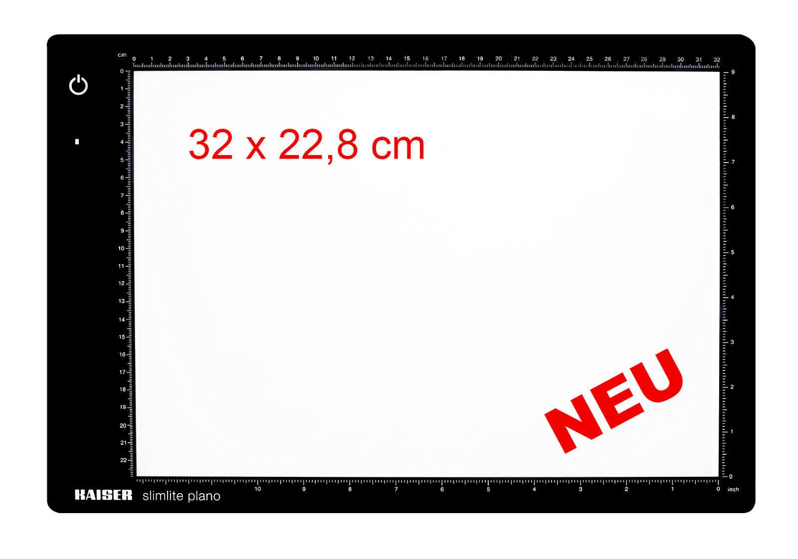 Kaiser Fototechnik LED-Leuchtplatte ''slimlite plano'', 32x22,8 cm, 5000 K,