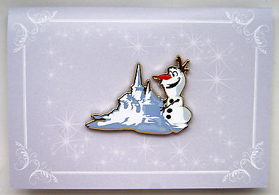 ACME HOTART DISNEY ALMOST SUMMER OLAF SNOW CASTLE FROZEN LIMITED RELEASE PIN - Summer Olaf