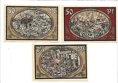 GERMANY NOTEGELD NOTES -WAFUNGEN 3  NOTGELD NOTES(NN -33)