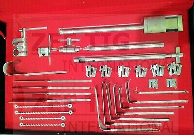 Bookwalter Retractor Complete Set German Stainless Steel Zeetig International