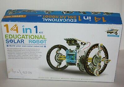 Used, 14 in 1 Educational Solar Robot Kit - Build your own solar robot kit - COMPLETE  for sale  Shipping to South Africa
