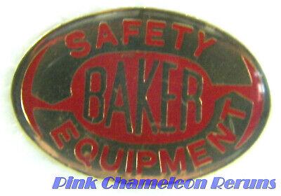 SAFETY BAKER EQUIPMENT Lapel Hat Pin Brooch