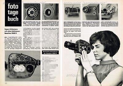 Beaulieu 2008 S Super-8 Filmkamera - Original Bericht von 1966