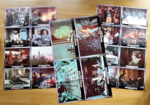GHOSTBUSTERS rare German 1984 lobby card set (20) DAN AYKROYD Sigourney Waever