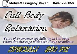 Mobile Massage by Steven Montmorency Banyule Area Preview