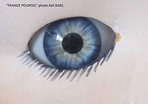 Reborn-yeux-BLEU-VERT-22mmRA01-poupeeMODERNE-Vintage-Realistic-doll-eyes-polymer