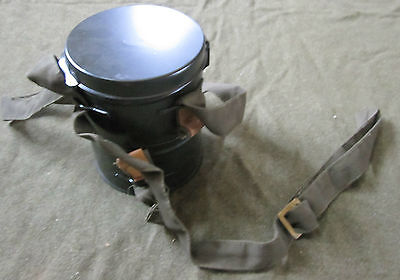 WWI IMPERIAL GERMAN GERMANY M1916 German GAS MASK TIN CANISTER