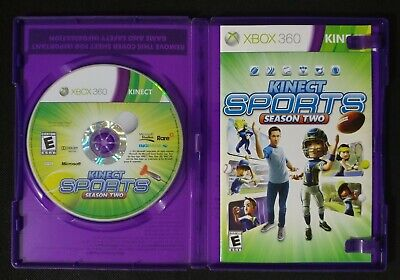 Kinect Sports Season Two for Xbox 360 - COMPLETE & TESTED - Mirror Perfect Disc , used for sale  Shipping to Nigeria