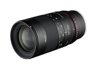 Rokinon 100mm F2.8 ED UMC Telephoto Macro Lens for Sony Full Frame E Mount