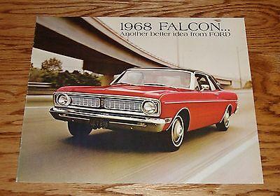 Ford Falcon Catalog (Original 1968 Ford Falcon Sales Brochure 68 Catalog)