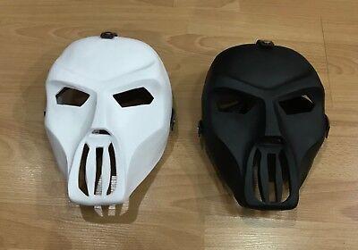 Tmnt Casey Jones fiberglass halloween Black & White hockey mask (Casey Jones Hockey Mask)