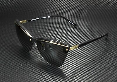 MICHAEL KORS MK2113 333287 Condado Black Dk Grey Solid 66 mm Women's Sunglasses