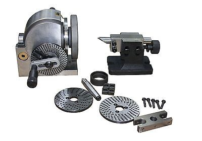 The Dividing Head With Dividing Plates And Tailstock