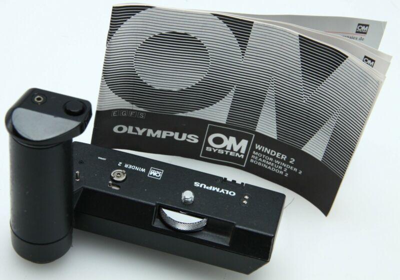 Olympus OM Motor Winder 2 / AA Battery Holder - tested  392186