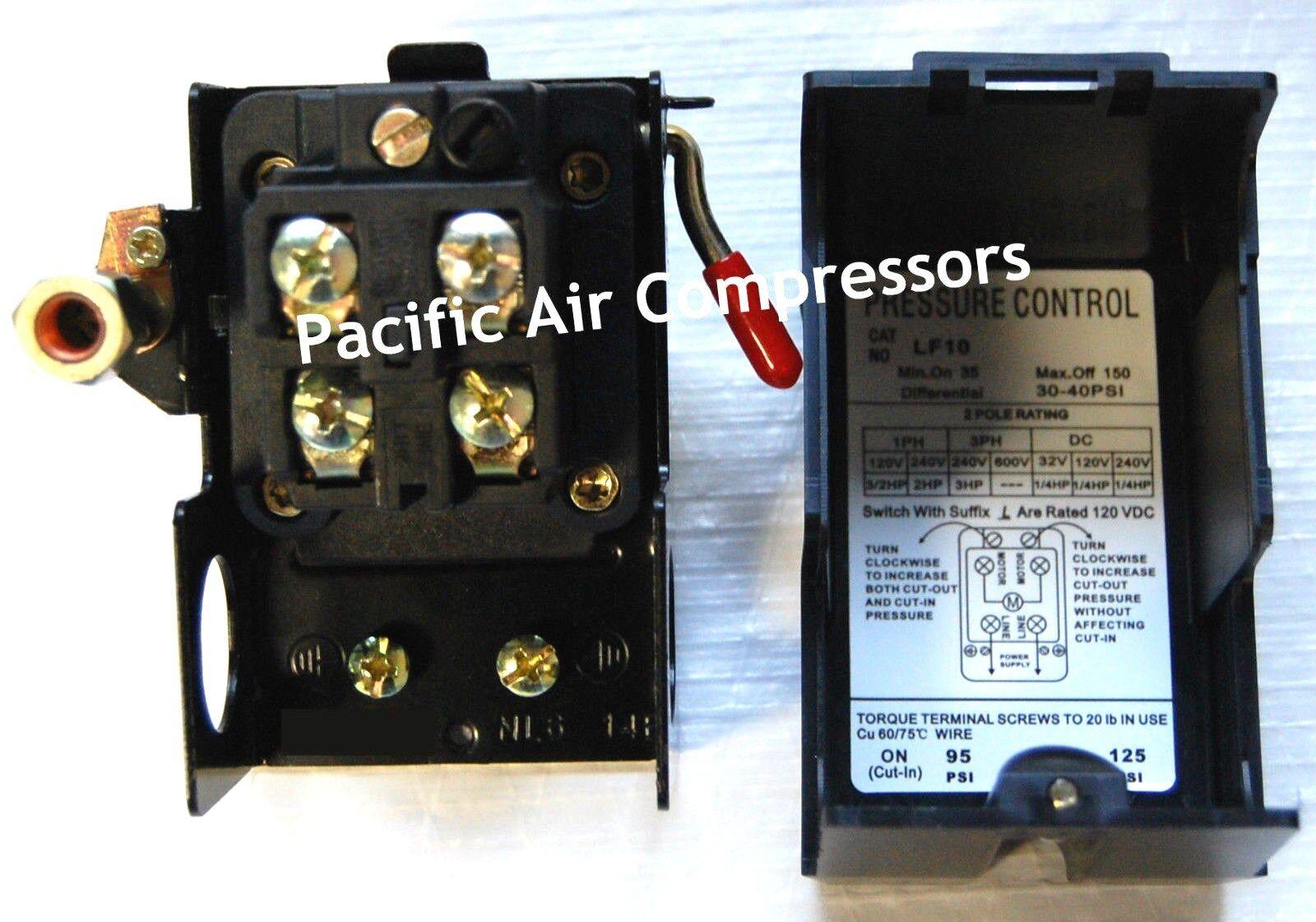 Sanborn 034 0134 0340134 Pressure Switch With Unloader