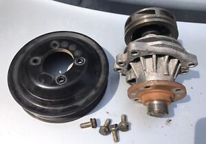 Bmw e36 water pump and pulley