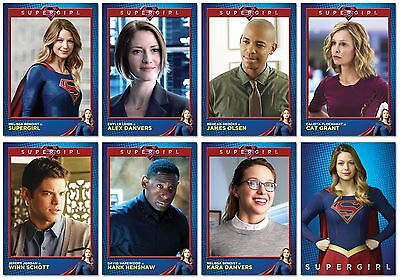 SUPERGIRL TV Show - 8 Card Promo Set