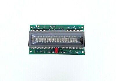 VFD 16 Character Vacuum Fluorescent Alpha Numeric Display 100mm x 28mm 03601-98