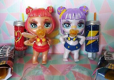 2 NEW POOPSIE Rainbow Surprise Fantasy Friend Rare Kyra Rae & Electra Spark doll