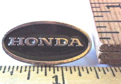 "vintage ""Honda"" pin collectible Japanese motorcycle biker pinback memorabilia"