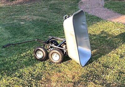 Wagner System 20103601 Multi-Roller Serie K Gardening Wagon Terracotta