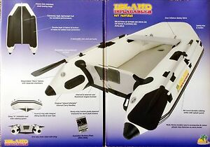 Inflatable dinghy with outboard motor Albany Albany Area Preview