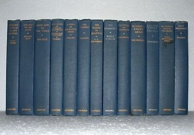 13 x Mixed Authors - Oxford , 1963-  Wedding Decoration/Bookshelf/ Resale HB. - Wedding Decor Resale